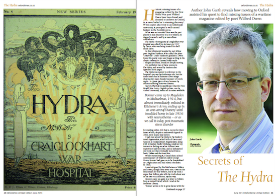 Secrets of the Hydra, Oxfordshire Limited Edition