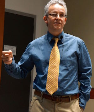 John Garth at SHSU, 25 March 2015