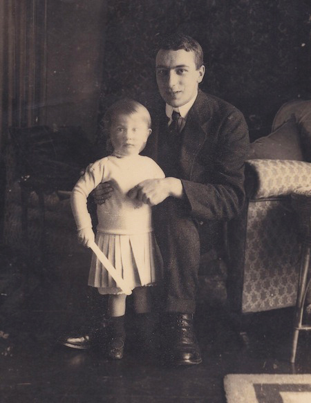 Hugh and Rob Gilson, 1913